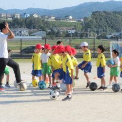 サッカー教室楽しいよ⚽