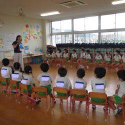 英語教室が始まりました