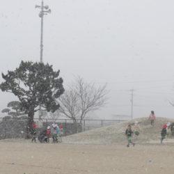 雪の日も元気です⛄
